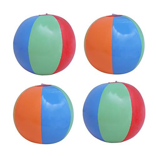 TOYMYTOY 12 Pcs Juguete Pelota Bola de Playa Inflable Natación Piscina Bolas de Playa inflables para Las Piscinas Parte Jugar Niños Juguetes de Playa de los niños