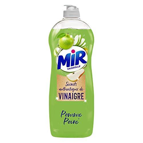 Mir Vaisselle Secrets de Vinaigre - Liquide Vaisselle Pomme-Poire 750ml