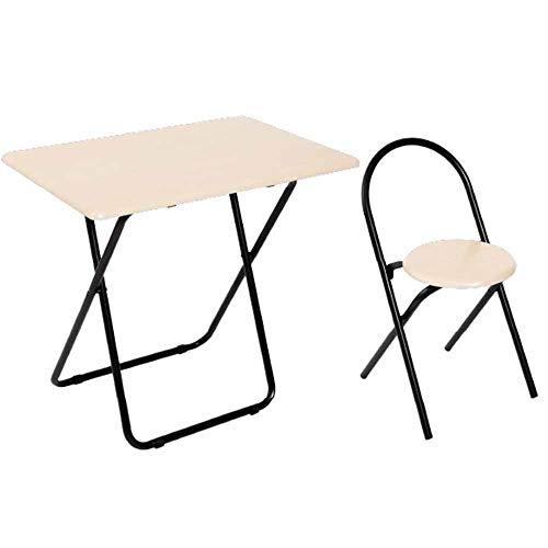 アイリスプラザ デスク 折りたたみ チェア 椅子 セット 在宅 テレワーク 折りたたみデスク チェアセット 机 オーク ODACS-70OK