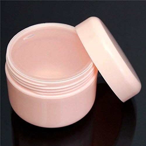 Bluelover 50Ml Vide Crème pour Le Visage Récipient Lotion Pot Voyage Rose Maquillage Cosmétique