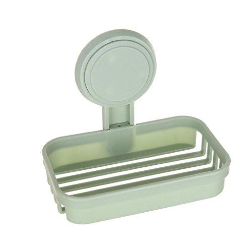Xuan - Worth Having Plastique Vert Clair de Couche Simple de Savon de boîte de Savon de Mode de Couche Simple en Plastique