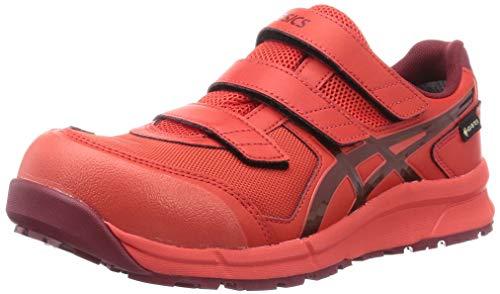 [アシックス] ワーキング 安全靴/作業靴 ウィンジョブ CP602 G-TX JSAA A種先芯 耐滑ソール 防水 αGEL搭載 メンズ ファイアリーレッド/ビートジュース 24.5