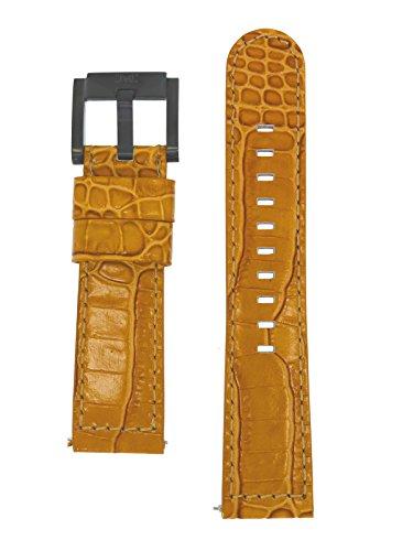 TW Steel Marc Coblen Armband Uhrenband Uhrenarmband Leder 22 MM Kroko Braun LB_BR_K_B