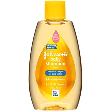Johnson's Baby Shampoo, Travel Size, 1.5 Ounce (Pack of 3)