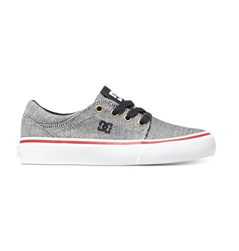 DC Shoes Trase Tx Se, Jungen Sneaker, Schwarz - Schwarz - Black wash/Noir - Größe: 4.5