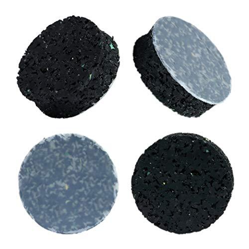 HaftPlus - 4 Stück Selbstklebende Schwingungsdämpfer, für Waschmaschine, Trockner, Subwoofer - Stoppt Vibrationen und verhindert wandern - Ø 30 mm, Höhe 10 mm