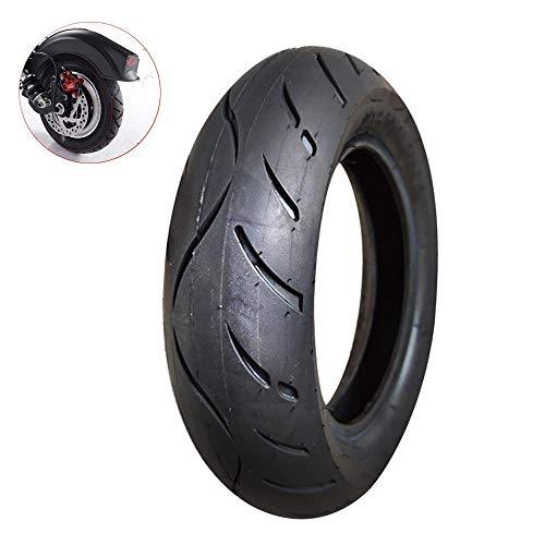 Neumáticos amortiguadores para Scooters eléctricos 10 Pulgadas 10X2.50 (60/85-6) Neumáticos internos y externos, Caucho de Alta Elasticidad Resistente al Desgaste, Banda de Rodadura Antideslizante