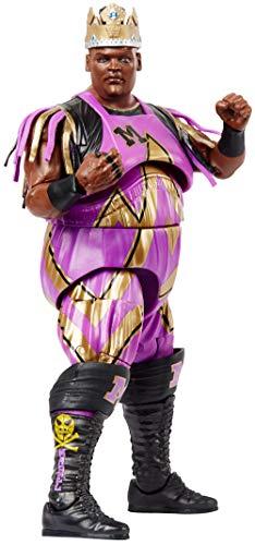 WWE - Elite Figura de acción luchador King Mabel con accesorios de lucha Juguetes niños +8 años (Mattel GCL48)