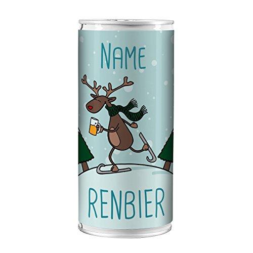 Lustapotheke® Bier mit Namen zu Weihnachten - Renbier - für alle Bierliebhaber