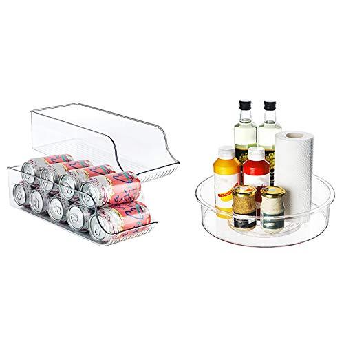 Cuasting Caja de almacenamiento para frigorífico, 3 unidades, 2 unidades A y 1 B