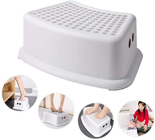 ZPN Tritthocker für Kinder, One Step Hocker mit weicher Rutschfester Punktoberfläche und Rutschfester Basis, ideal für Töpfchentraining, Badezimmer, Schlafzimmer, Spielzeugzimmer,
