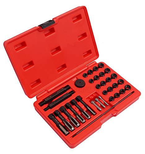 Juego para reparar roscas de calentadores con helicoils 33 piezas. Kit de reparación de culatas