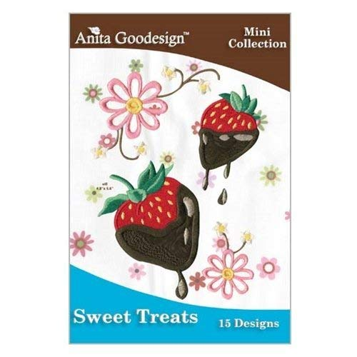 Anita Goodesign Sweet Treats Embroidery Coll