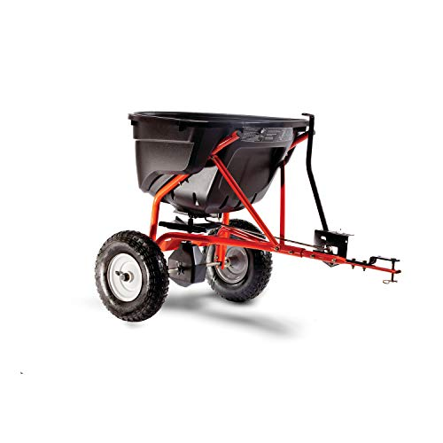 Agri-Fab 45-0463 130-Pound Tow Behind Broadcast Spreader , Black