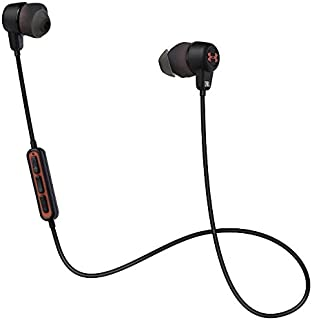 JBL UA Headphones Wireless / Engineered by JBL ワイヤレスイヤホン Lightningコネクタ直結/防水機能 IPX5対応/リモコン付 アンダーアーマー JBLコラボレーションモデル ブラック UAJBLWIRELESSB 【国内正規品】