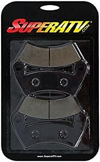 SuperATV Brake Pads for Polaris General 4 / RZR 570 / RZR 800 / RZR 800 S/RZR 900 / RZR 900 S/RZR 900 4 / RZR 1000 S - (BP-P-007)- Replaces OEM #1911197, 2203318