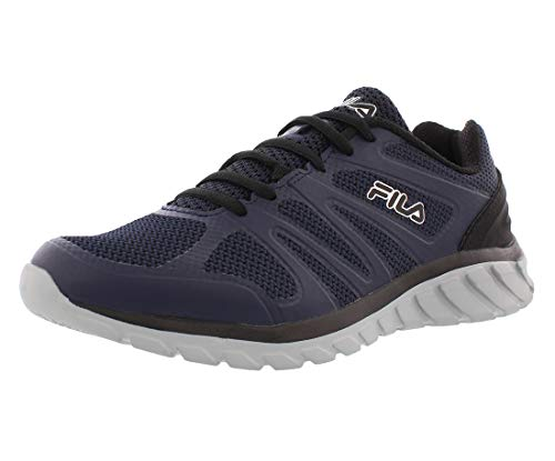 Fila Mens Memory Cryptonic 3 Mesh Memory Foam Running Shoes Navy 13 Medium (D)