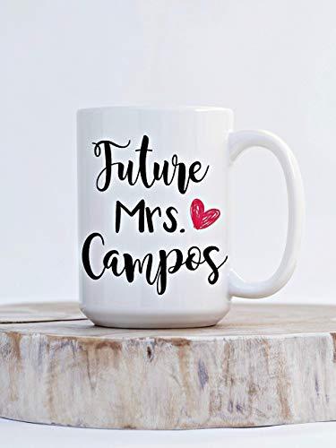 N\A Taza de café de la Futura señora para la Futura Novia Taza de Regalo de Compromiso para el Anuncio de Compromiso de un Amigo Taza para su Taza Grande