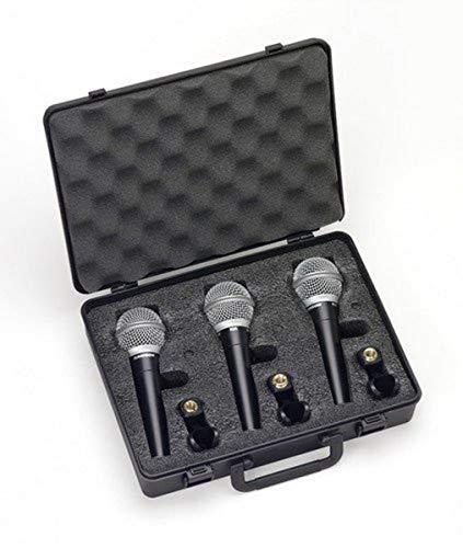 Samson - R21 ST3 - Microfoni Dinamici - Cardioidi - Set 3 pezzi