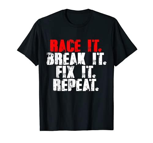Race It Break It Fix It Repeat RC Car...