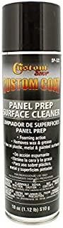 Custom Coat Panel Prep Surface Cleaner and Degreaser - Giant 18 Ounce Spray Can - a Great Aerosol Grease and Wax Remover to Eliminate Contaminents Before Painting