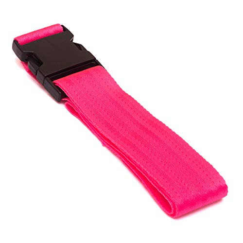Deluxe Luggage Straps 2.5m x 50mm 2 Pack (Pink)
