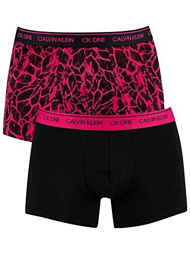 Calvin Klein Herren 2er Pack CK One Trunks, Schwarz, M