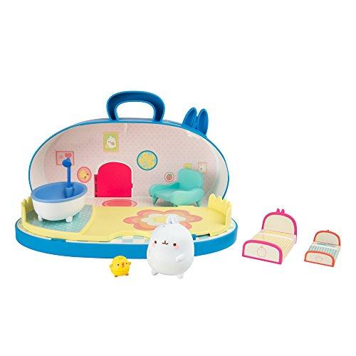 Molang Spielset von TOMY – Das mehrfarbige Puppenhaus für Kinder ab 3 Jahren. Angelehnt an die Molang Disney-Serie lässt das Puppenhaus die Herzen von Disney-Fans und Kindern höher schlagen!