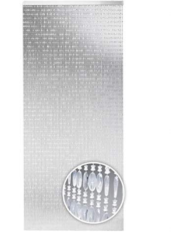 Rattano - Tenda per porta Diamonds, 90 x 200 cm, con 72 fili