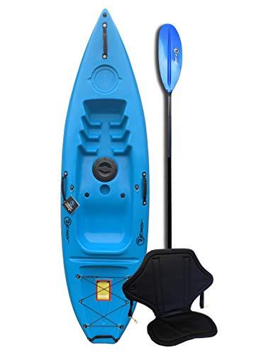 Riber Standard Sit On Top Kayak - Ideal for Beginners - Starter Pack - Multiple Colours
