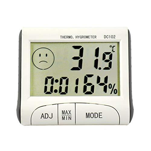 Szaerfa Medidor Humedad Digital LCD Termómetro Caliente