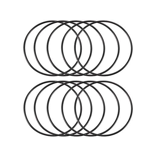 10 Stück Black Rubber Ölfilter Dichtung O-Ring Dichtungen 50 mm x 47 mm x 1,5 mm de