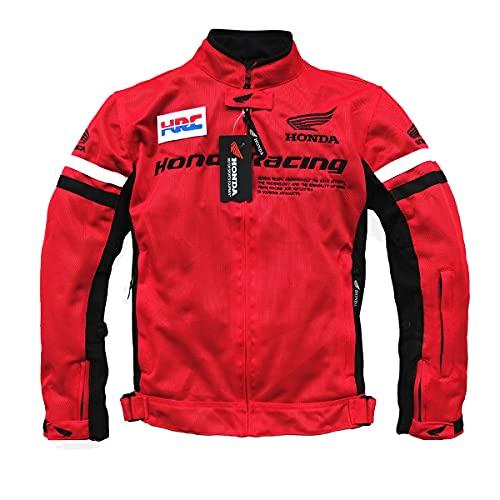 LITI Chaqueta De Motocicleta De Moto para Hombre Chaqueta Deportiva - Confeccionada En Tejido con Protecciones CE - Impermeable - Ajustable