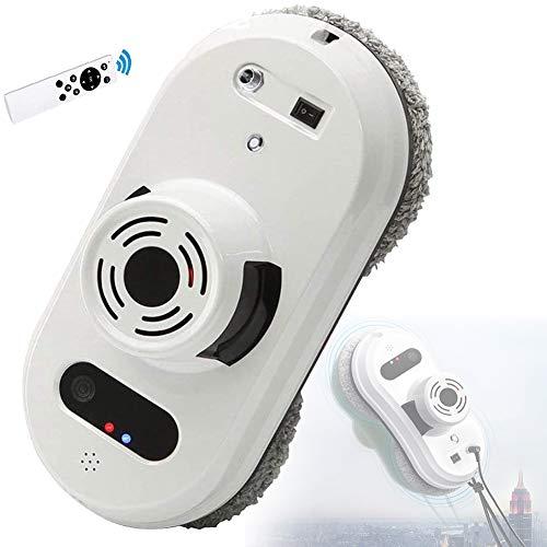 EnweNge Robot Limpiacristales, Robot De Limpieza De Ventanas Eléctrico, Aspirador Automático De Vidrio Robot De Limpieza De Vidrios, Control Remoto Adsorción De Vacío Fuerte, con Mando a Distancia