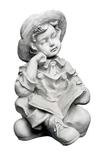 frostfest gartendekoparadies.de S/üsses Eichh/örnchen Steinfigur aus Steinguss