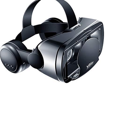 CHAW Universal Virtual Reality Brille VR Headset 3D VR Brille Headset für 3D VR Filme Videospiele Kompatibel mit 5 bis 7 Zoll Smartphones