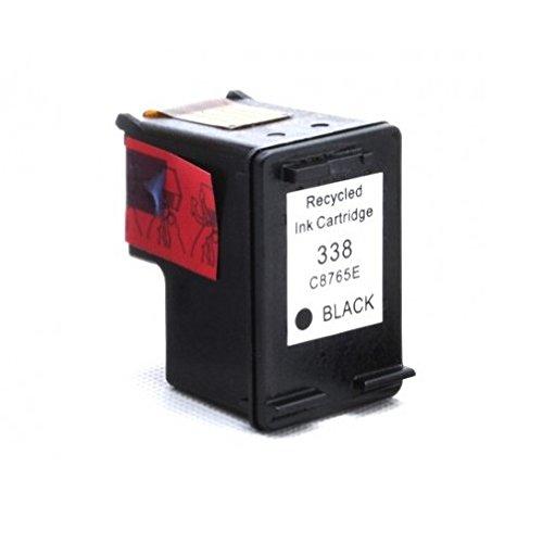 Cartucho Tinta Compatible para HP 338 XL / C8765EE Negro 18ml T87