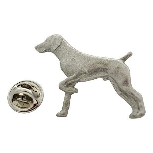 Sarah's Treats & Treasures German Shorthaired Pointer Pin ~ Antiqued Pewter ~ Lapel Pin