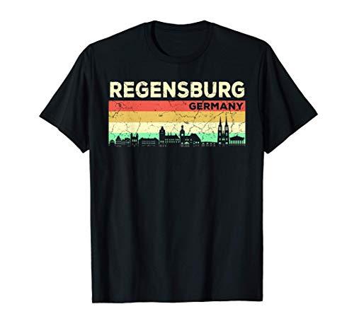 Mein Regensburg Skyline Deutschland Heimat Stadt Souvenir T-Shirt