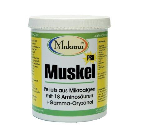 Makana Muskel PRO Pellets (mit Mikroalgen), 1,5 kg Eimer (1 x 1,5 kg)