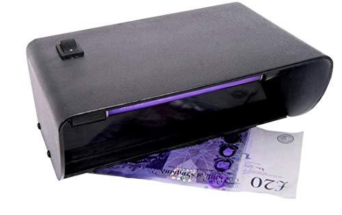 Lampada OmniaLaser OL-UVMONEYCHECK Di Wood UV Ultravioletta Rilevatore Banconote False da Tavolo