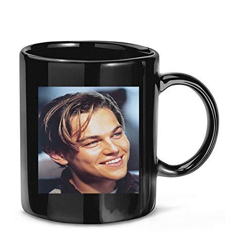 #Photograph #of #Leonardo #Dicaprio #As Jack Dawson in Titanic Smiling Portrait Coffee Mug for Women and Men Tea Cups