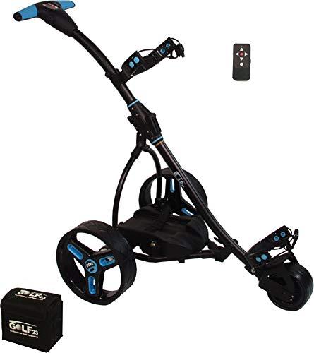 PGE CAD Elektro Golf Trolley 2.0 Gel Batterie, 33Ah, Funkfernbedienung, schwarz