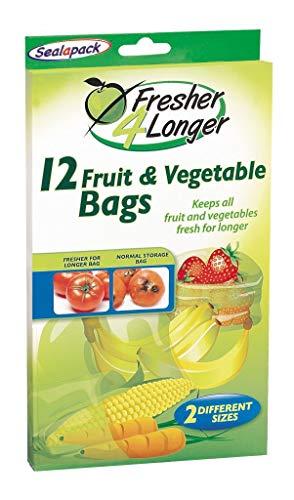 Sealapack Frischhaltebeutel für Obst und Gemüse 15 Stück