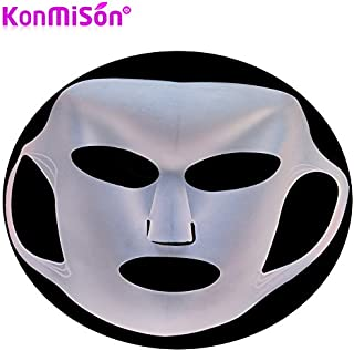 Generic Silicone Facial Mask Cover Locking Water Reuse Waterproof Beauty Face Moisturizing Mask For Sheet Mask Cover Face Care Tool