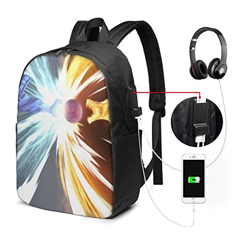 Kurama Kyūbi Susanoo Naruto Interesting USB Backpack 17 in Laptop Backpack