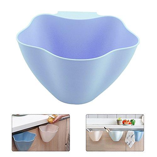 OurLeeme Multifunktional der Küche Aufhängen-Mülleimer Boxen von Lagerfläche für Küche, Blau
