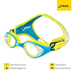Designed to provide kids with a comfortable, easy-to-put-on goggle. Ideal for ages 4-12 Soft, neoprene split-strap provides cushion and comfort while creating a watertight fit Floating material prevents goggles from getting lost on the bottom of the ...