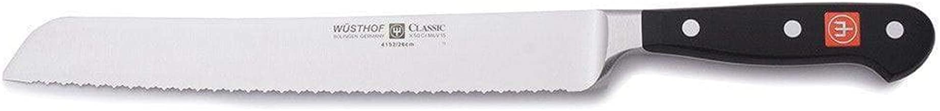 Wusthof 4152-7/26 CLASSIC Bread Knife, One Size, Black, Stainless Steel