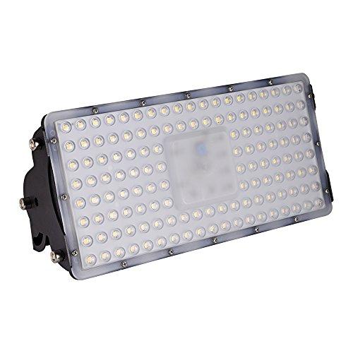 Viugreum [Led Flutlicht Strahler Außenleuchte] Super Hell 100W LED Fluter Floodlight Licht Scheinwerfer Außenstrahler Wandstrahler IP65 Wasserdicht SMD2835, 10000LM, Warmweiß